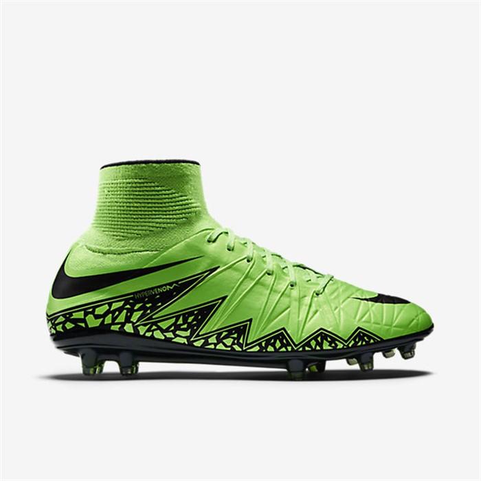 Groene Nike Hypervenom II voetbalschoenen Voetbal schoenen.eu