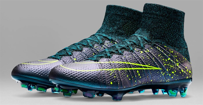 new concept 055e5 8e530 Blauwe Nike Mercurial Superfly Voetbalschoenen 2015