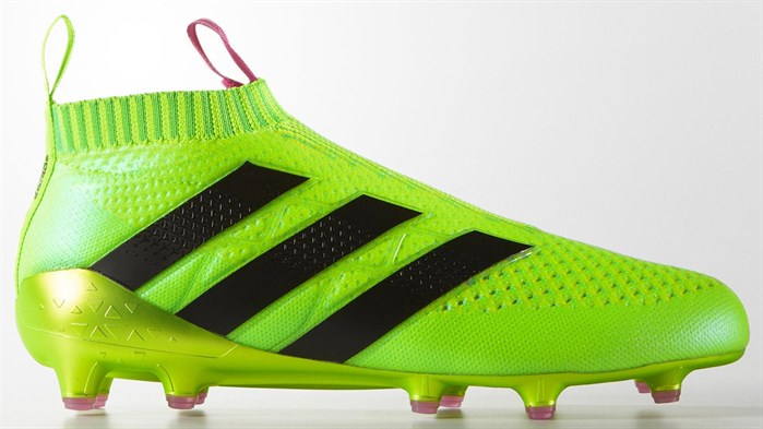 Groene Adidas Ace 16+ Pure Control Voetbalschoenen 2