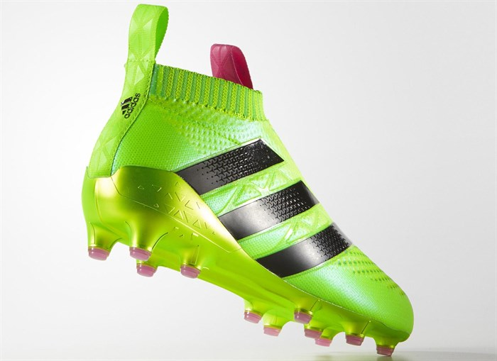 Groene Adidas Ace 16+ Pure Control Voetbalschoenen 6