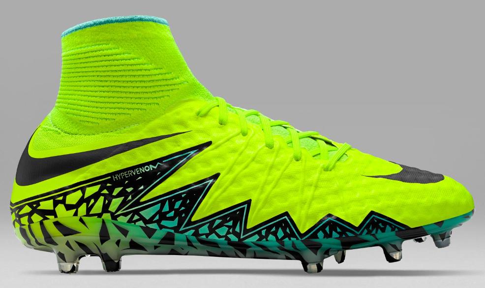 Nike Hypervenom Phantom II Euro 2016 voetbalsch Voetbal
