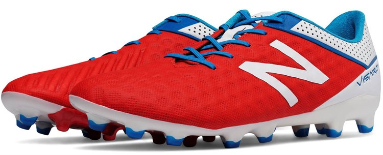 New Balance Visaro Atomic Red Voetalschoenen
