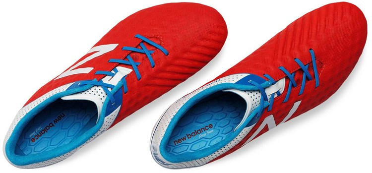 New Balance Visaro Atomic Red Voetalschoenen 2
