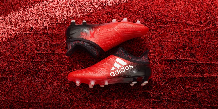 Red limit Adidas X16+ Pure Chaos voetbalschoenen