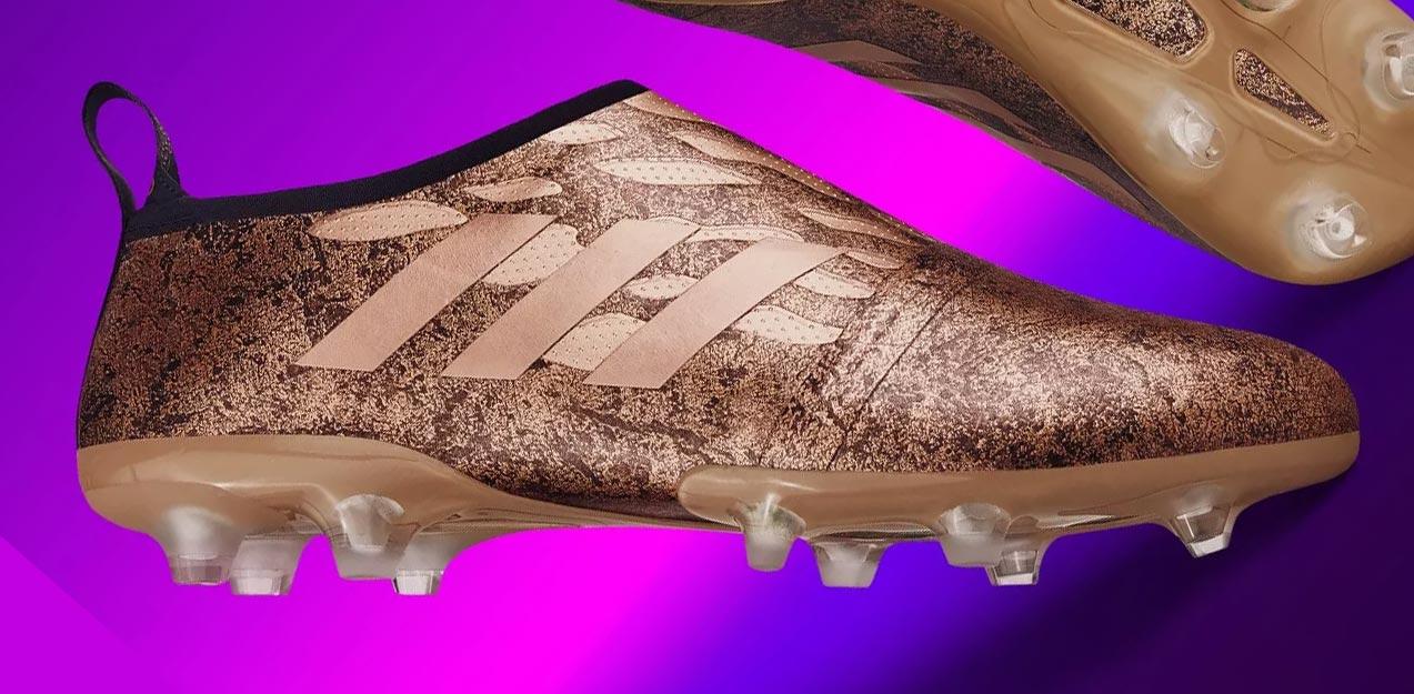 gouden adidas voetbalschoenen