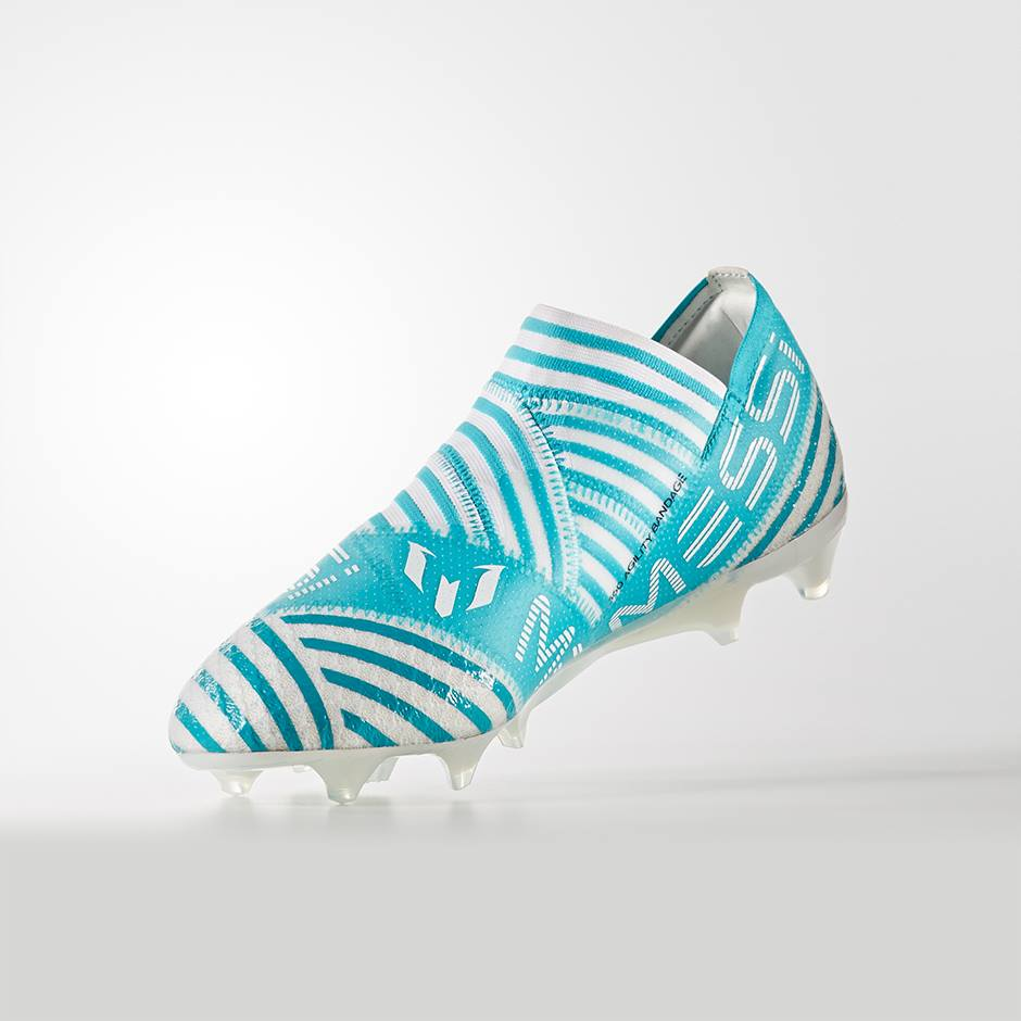 cc2fb8fccaf ... verwerkt over de schoen heen. Check hieronder alle details over het  materiaal, de technologieën en de voordelen van deze NEMEZIZ Messi  voetbalschoenen.