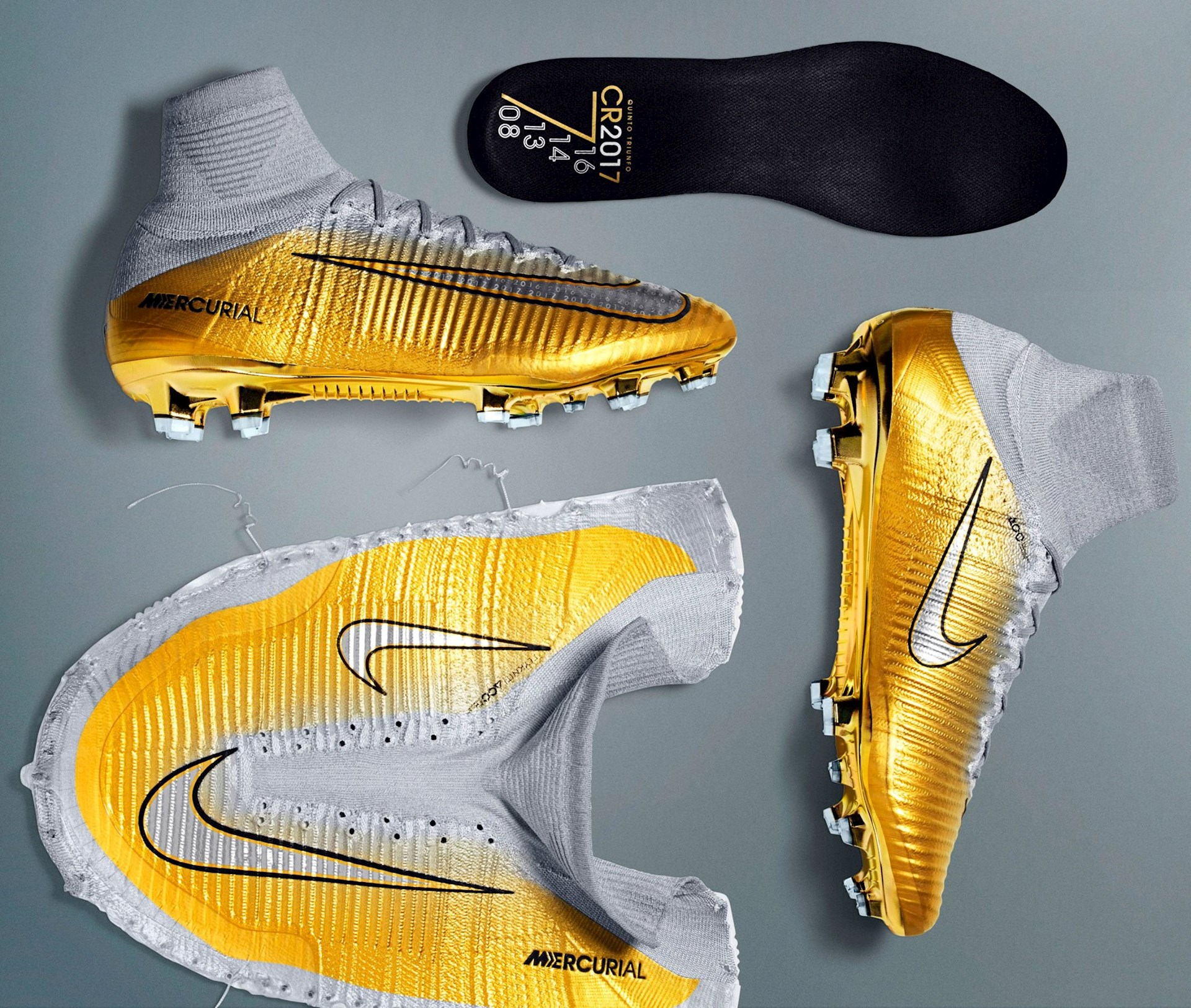 d65a4b5eb Nike Mercurial Superfly V CR7 Se Quinto Triunfo - Voetbal-schoenen.eu