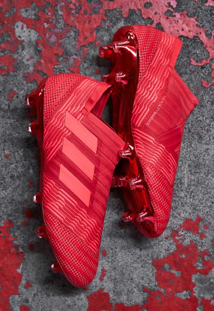 74d064c5937 adidas lanceert fel rode Nemeziz 17 Cold Blooded - Voetbal-schoenen.eu