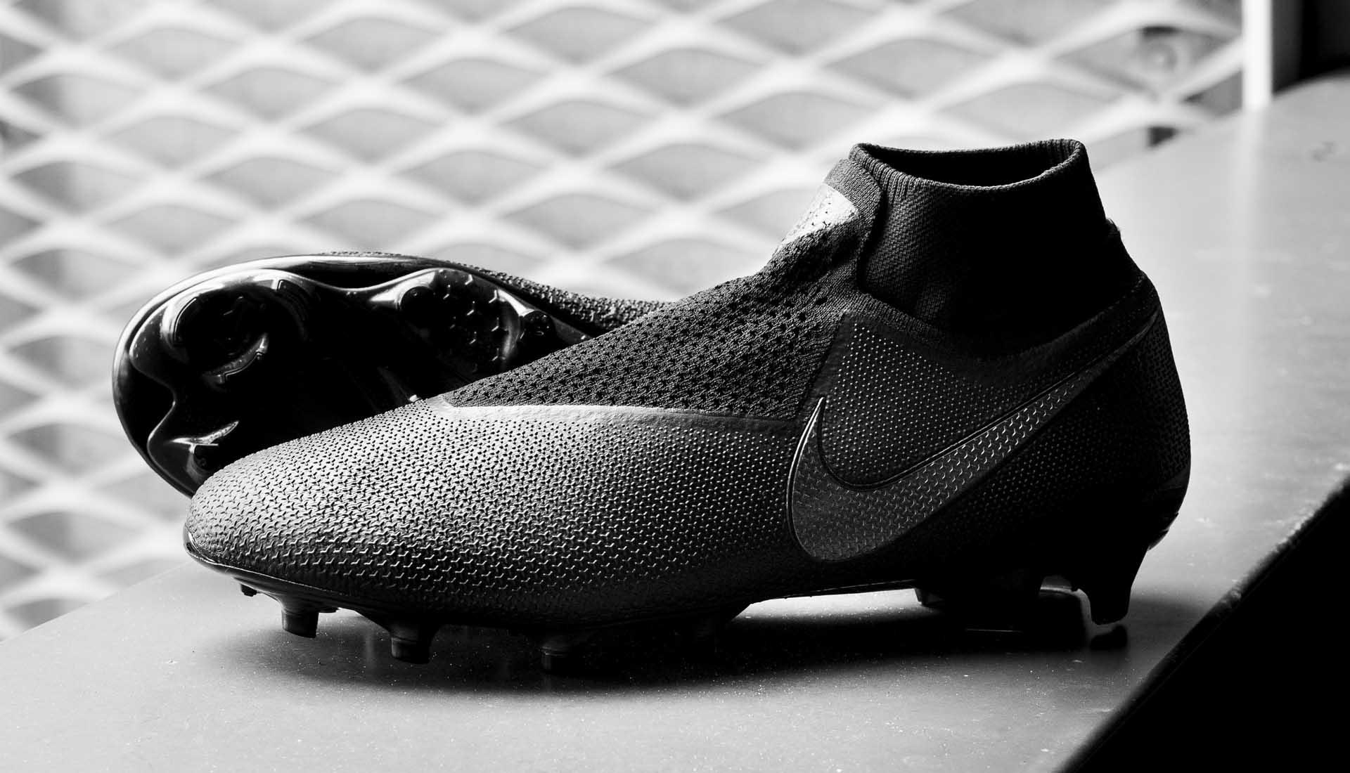 Zwarte Nike Phantom VSN voetbalschoenen 2018 201 Voetbal