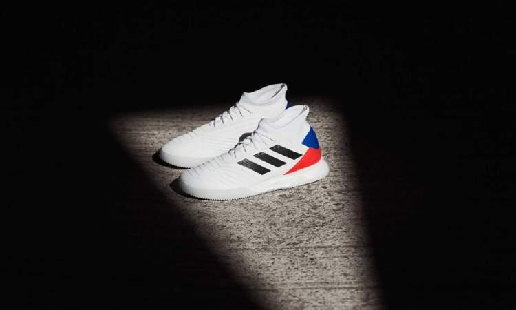 f23dfe3ad10 Adidas heeft nu ook twee nieuwe Predator 19.1 TR sneakers gelanceerd! De  lancering van deze sneakers volgt op het uitbrengen van het nieuwe pack ...