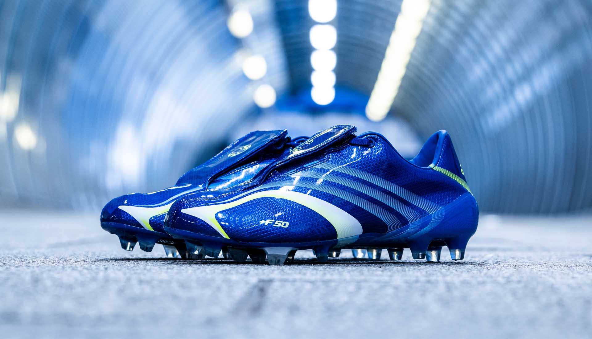 adidas f50 tunit blauw