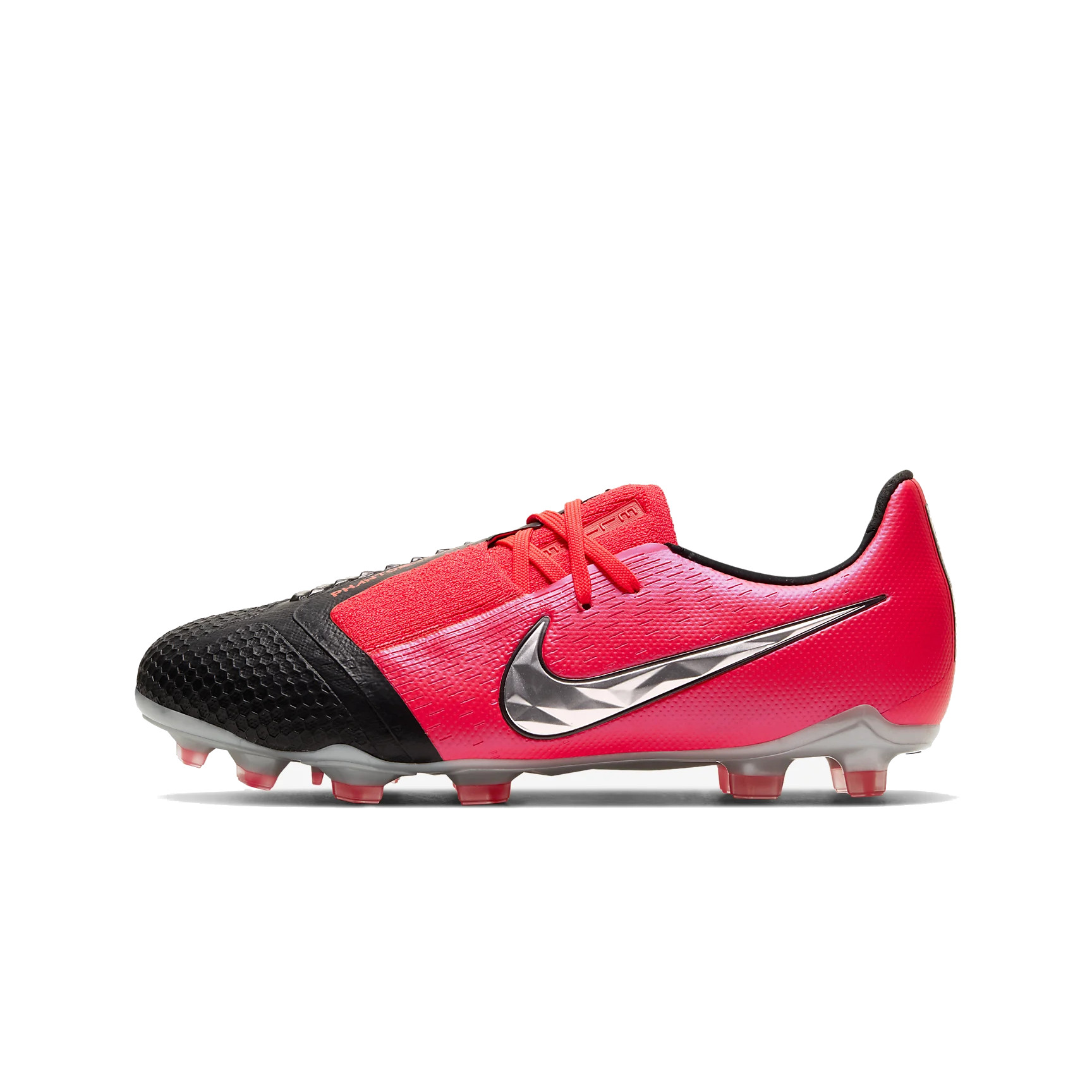 Lage, zwarte Nike Hypervenom Phantom 3 STRIKE NI Voetbal
